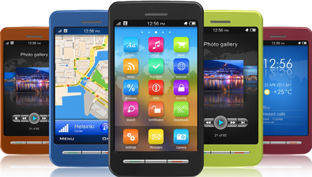 Native Apple iOS apps, Native Android apps, Web Apps